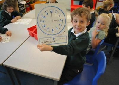 Class 2 Maths Time April 2016