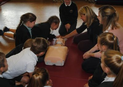 Year 5 and 6 First Aid Training